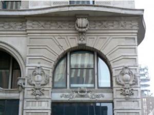 Сграда Брандейс (Brandeis Building), архитектурни детайли.